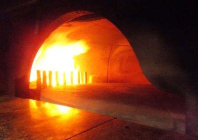 pizzerie sassari - LA PERLA ROSA - forno a legna rotante